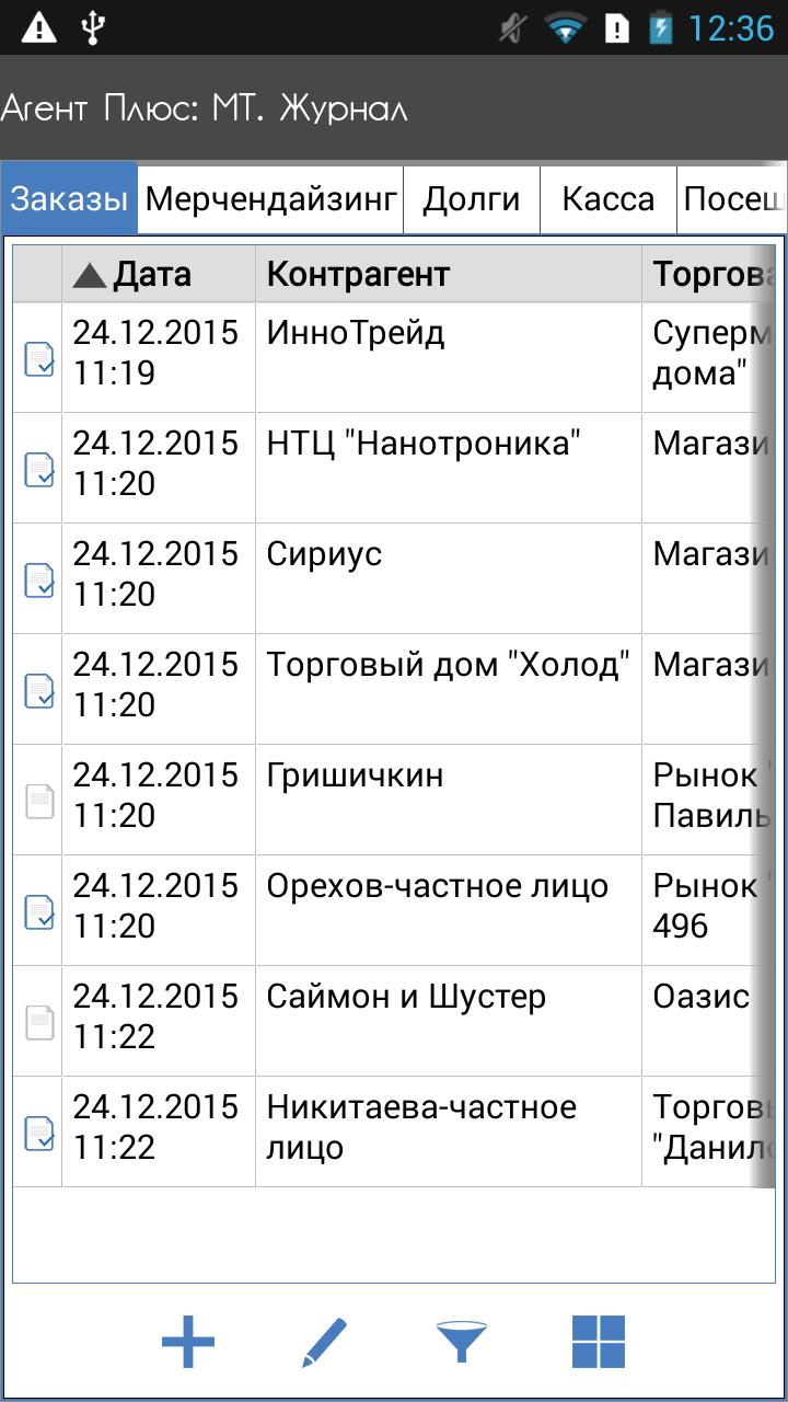 Журнал документов